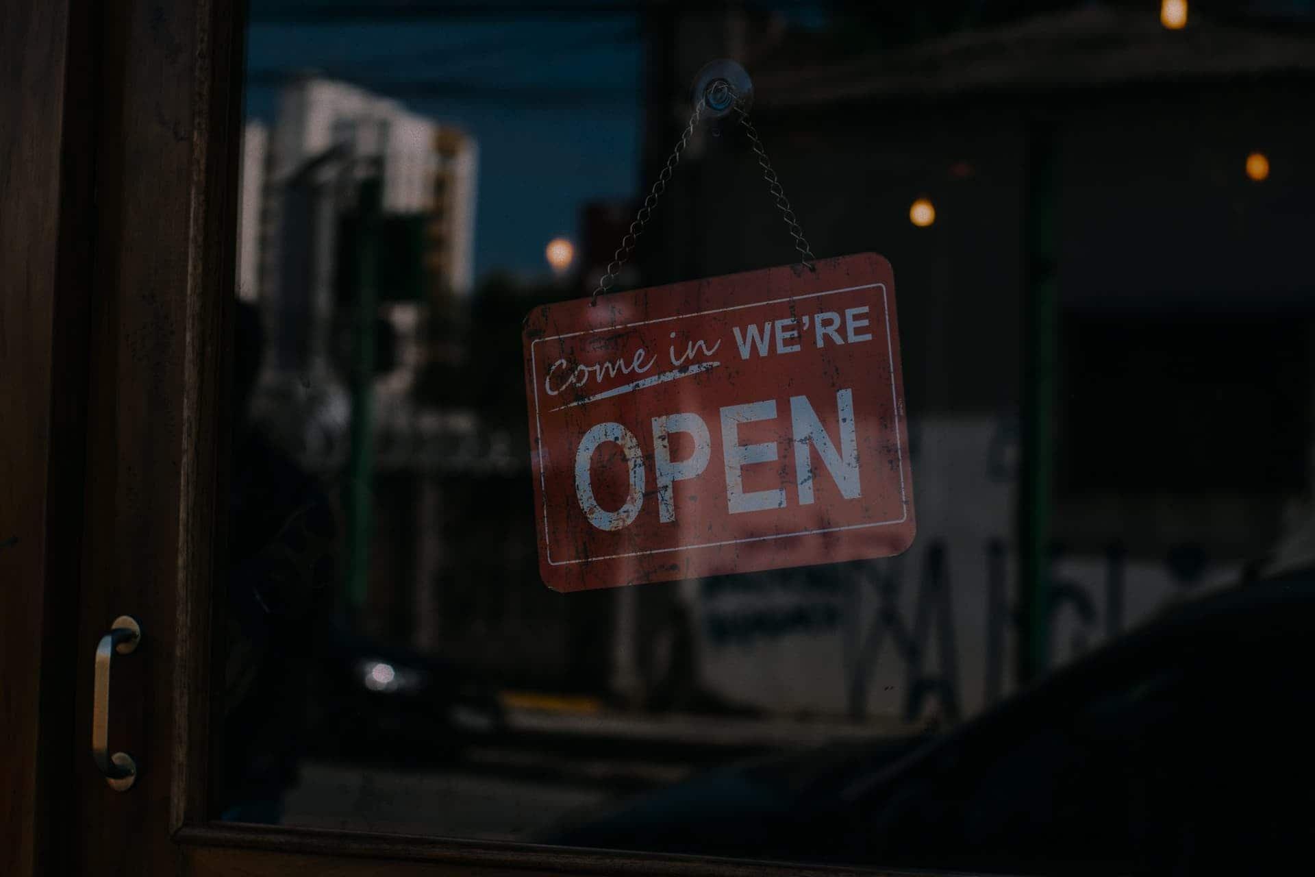 Boutique ouverte
